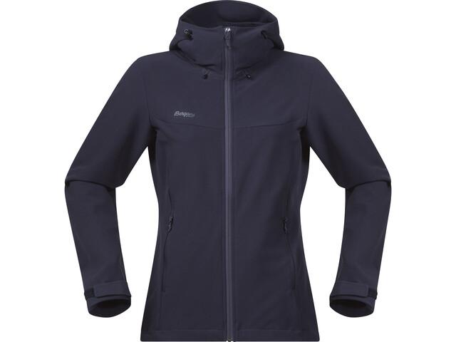 Bergans Ramberg Softshell Jacket Damen dark navy/night blue